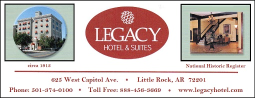 Legacy Hotel & Suites in Little Rock, AR