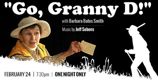 Go, Granny D!