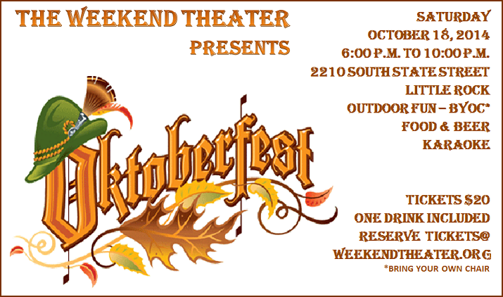 The Weekend Theater Presents Oktoberfest