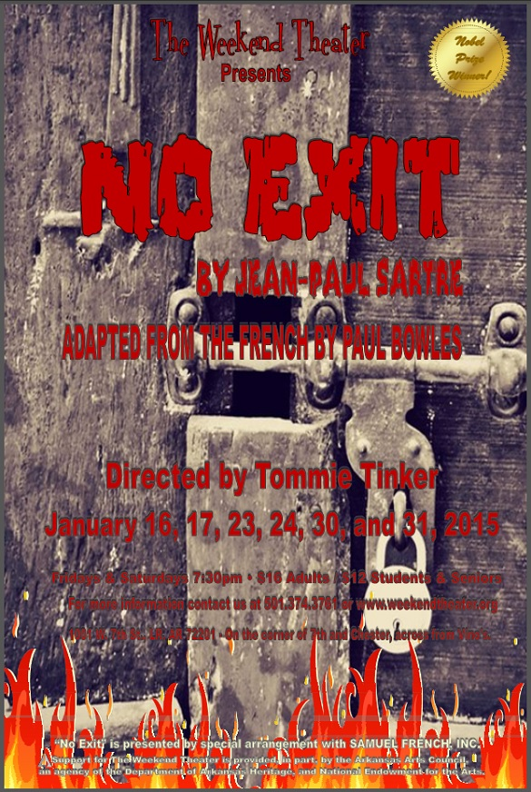 No Exit at The Weekend Theater in Little Rock, AR
