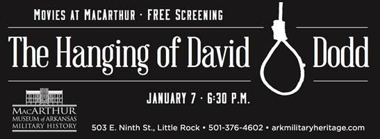 Screening of David O Dodd