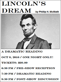 Lincoln's Dream Dramatic Reading at TWT