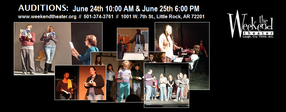 Auditions at The Weekend Theater